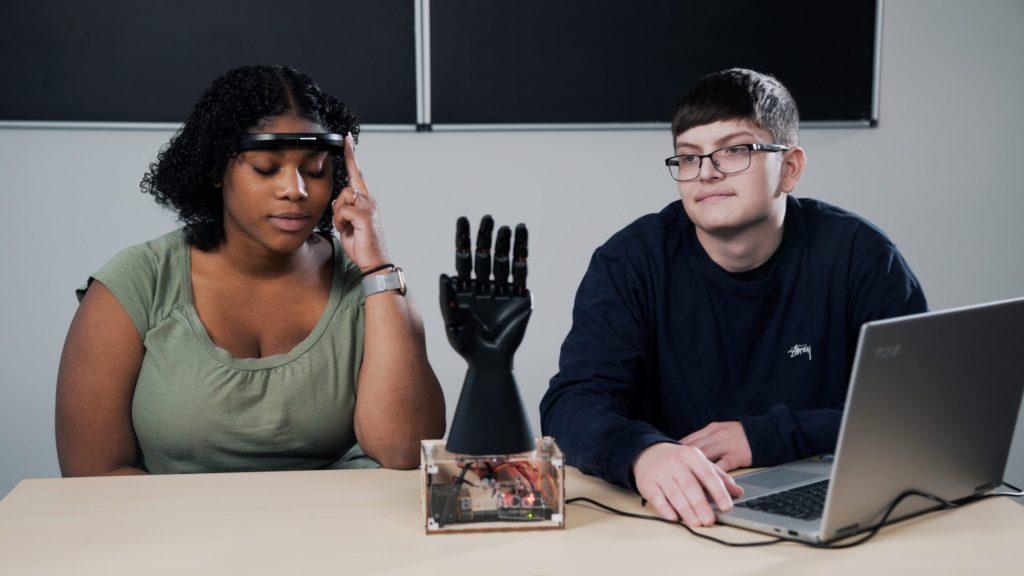 Hand Headband Control